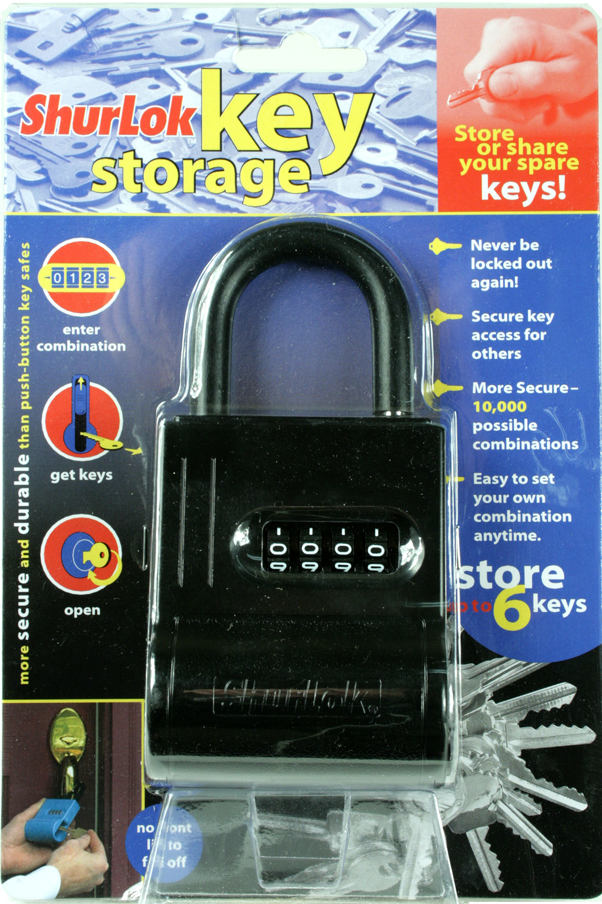 keyguard lock box instructions